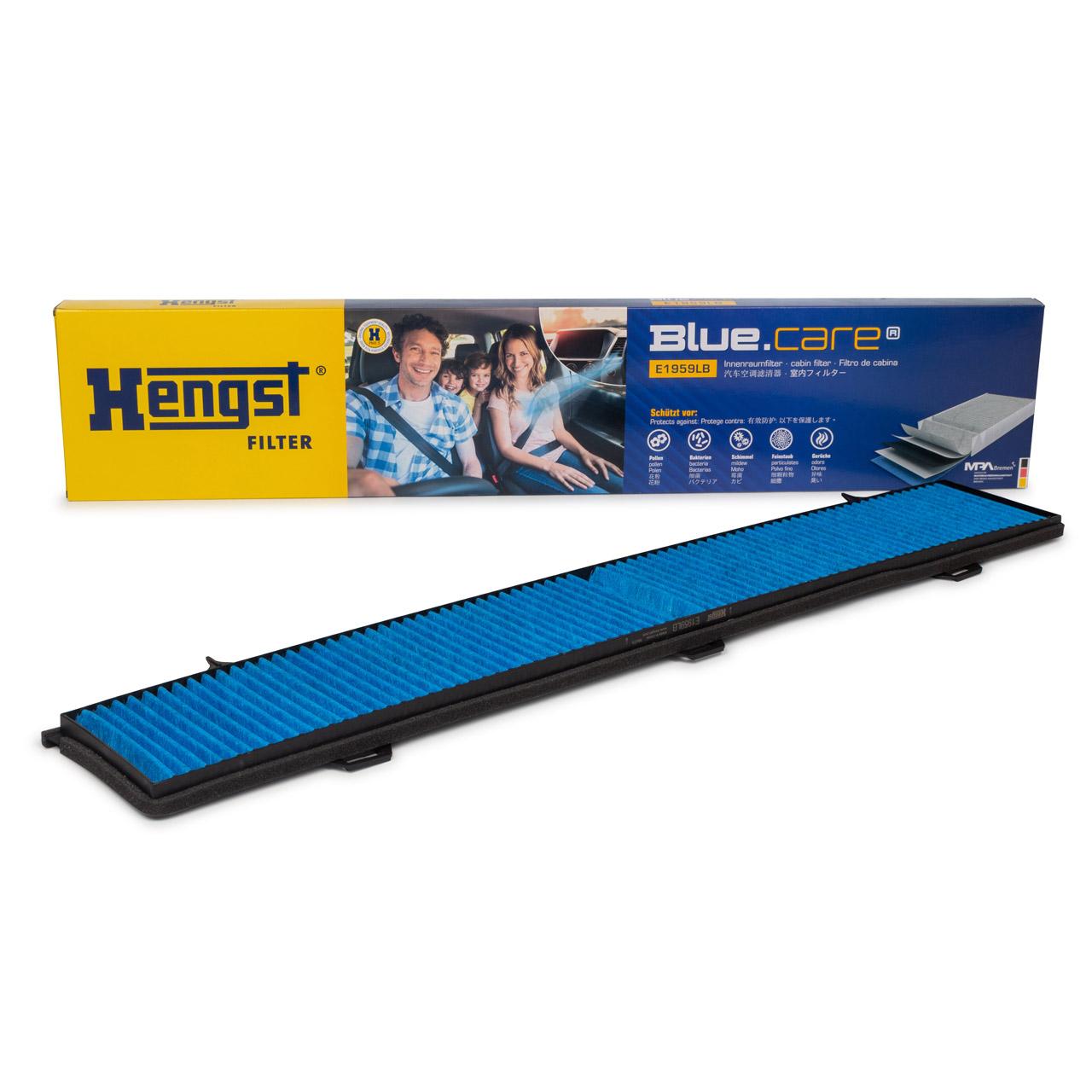 HENGST E1959LB BLUE CARE Innenraumfilter ANTIBAKTERIELL für BMW E81-88 E90-93 X1