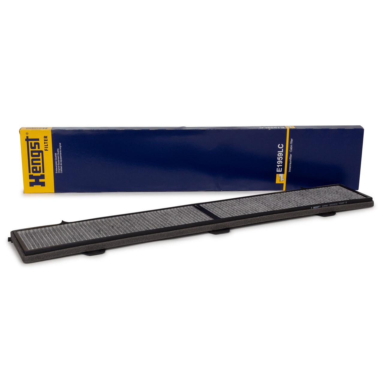 HENGST E1959LC Innenraumfilter Aktivkohlefilter für BMW E81-88 3er E90-93 X1 E84