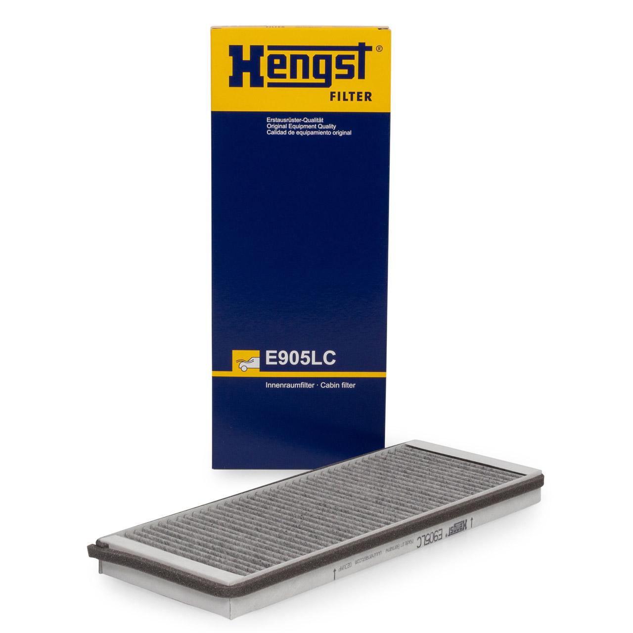 HENGST E905LC Innenraumfilter Aktivkohle für AUDI 80 B4 A4 B5 VW PASSAT 3B2 3B5
