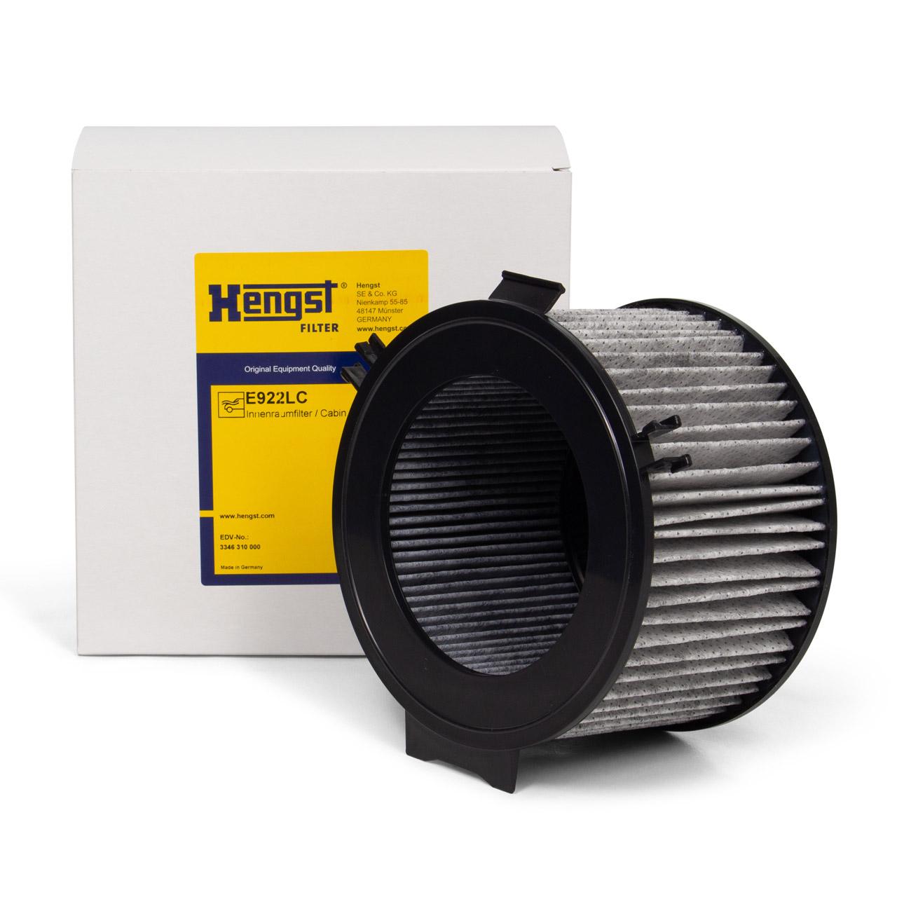 HENGST E922LC Innenraumfilter Aktivkohlefilter für VW TRANSPORTER T4