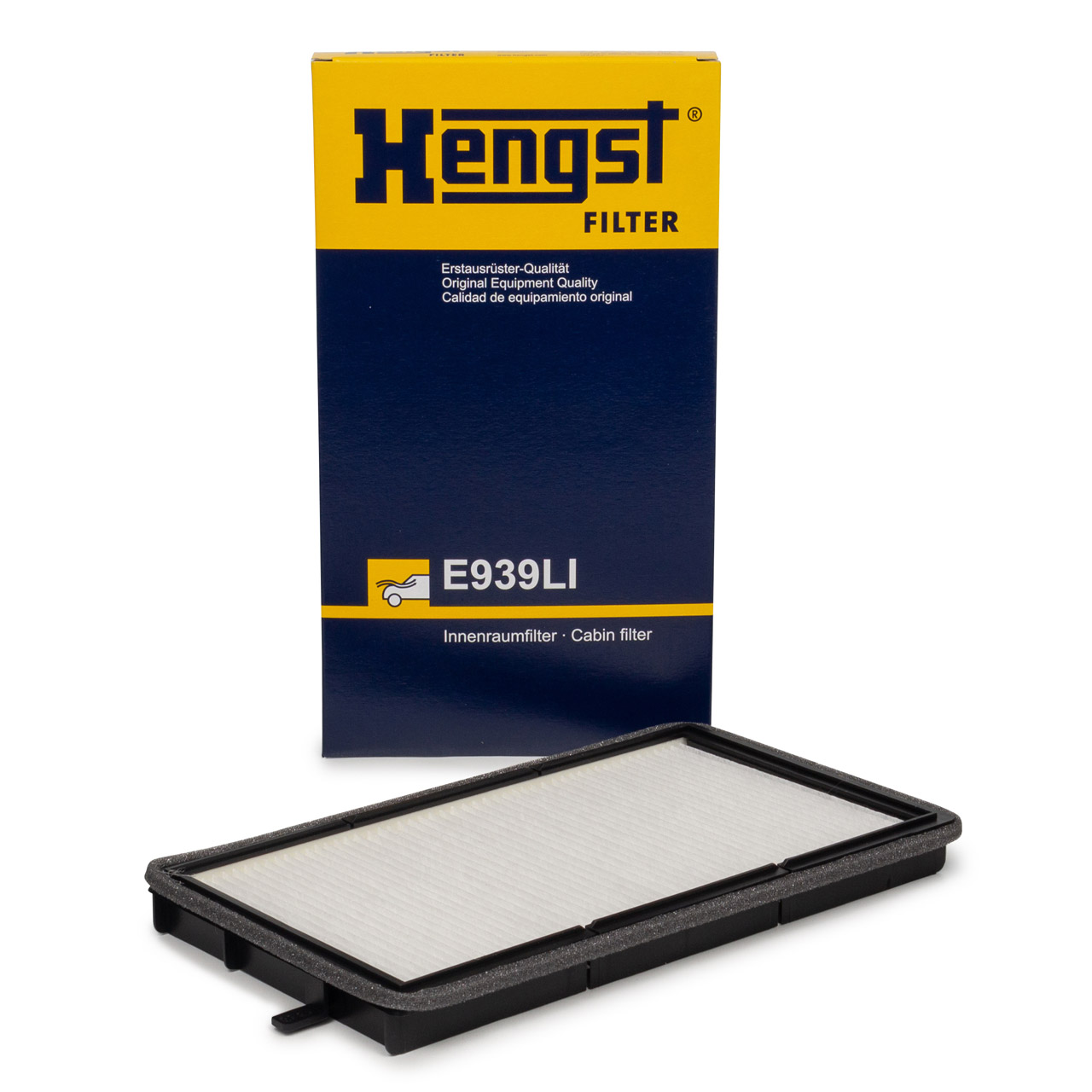 HENGST E939LI Innenraumfilter Pollenfilter für BMW 3er E36 (nicht für COMPACT) 64111393489