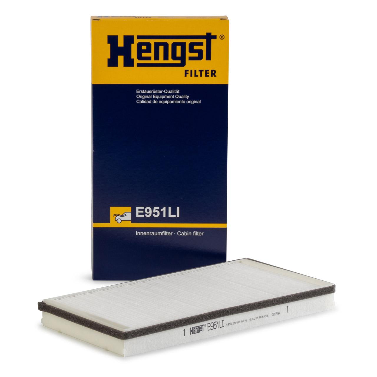 HENGST E951LI Innenraumfilter für PORSCHE 911 (996 997) BOXSTER CAYMAN (986 987)