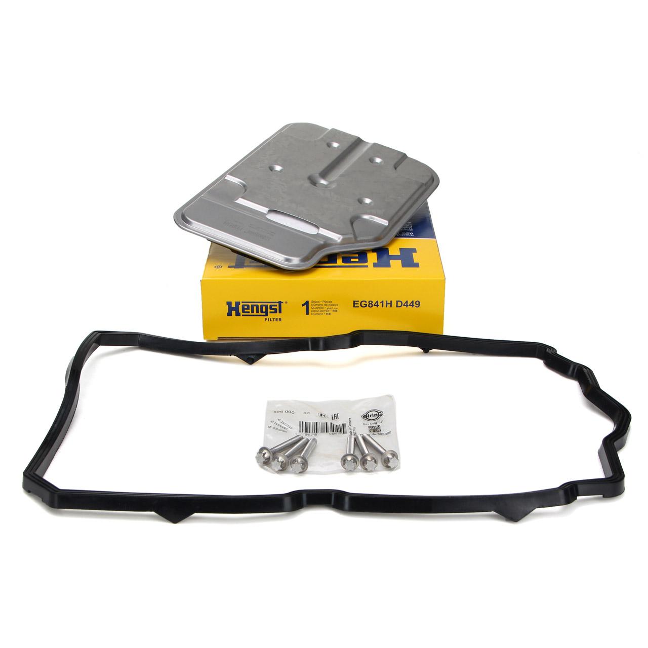 HENGST Getriebefilter + Schrauben 7-Gang 722.9 für MERCEDES C-/E-/G-/M-/S-KLASSE