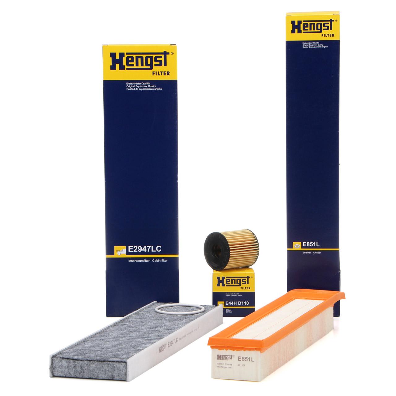 HENGST Filterset MINI R55 R56 R57 R58 R59 R60 R61 One / Cooper 75-122 PS N12 N16