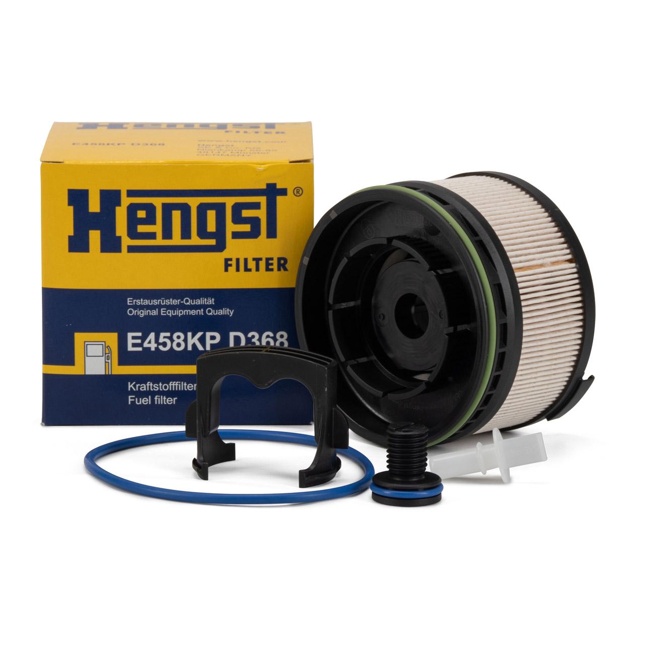 HENGST E458KPD368 Kraftstofffilter für MERCEDES 160-300d OM608 OM651 OM654
