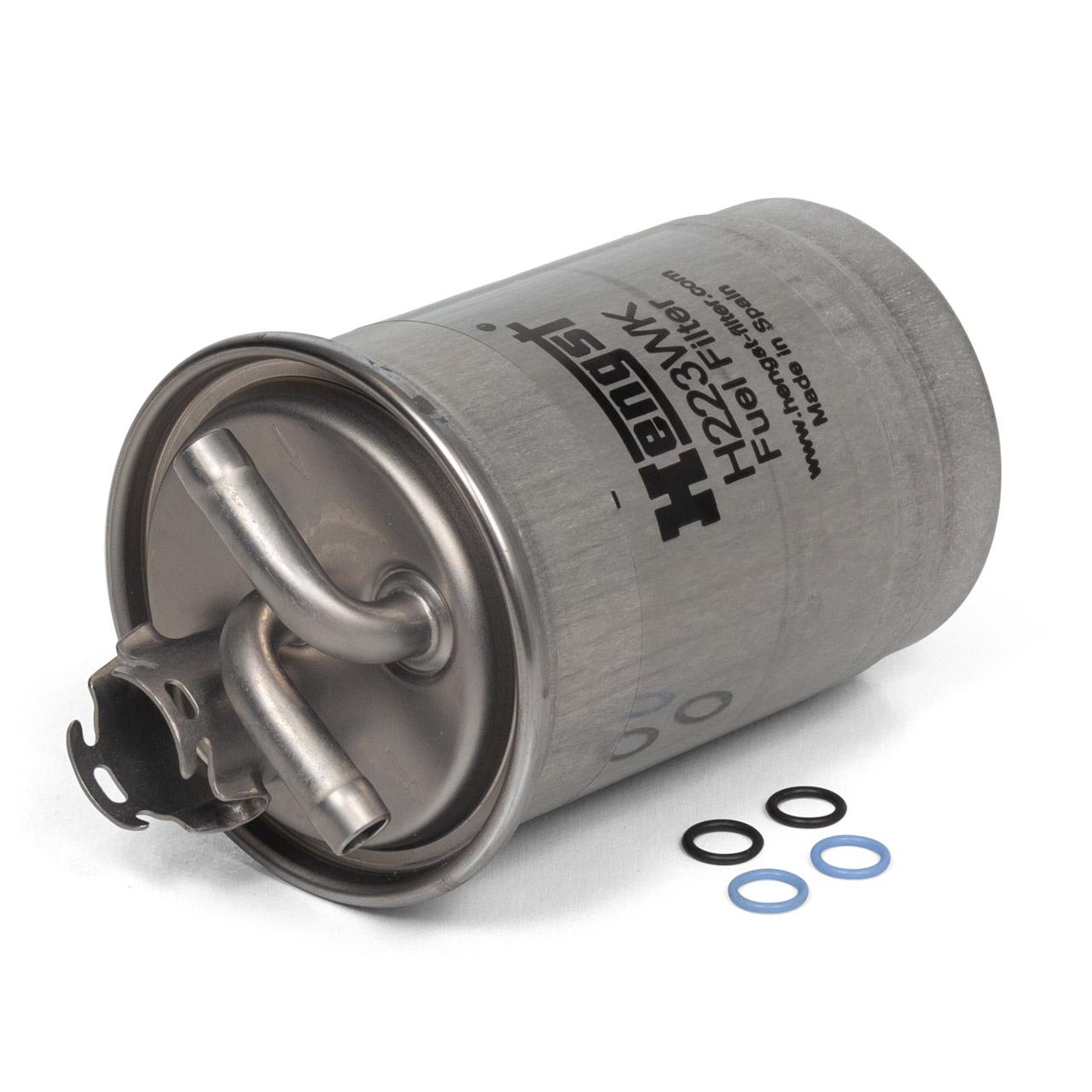 HENGST H223WK Kraftstofffilter für AUDI A4 (B7) A6 (C6) 2.0 TDI 121-170 PS