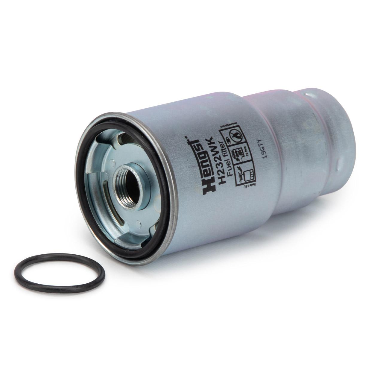 HENGST H232WK Kraftstofffilter Dieselfilter LEXUS IS 2 MAZDA 6 323 F TOYOTA 1.4/2.0/2.2 D