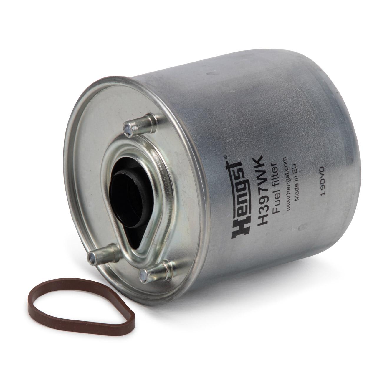 HENGST H397WK Kraftstofffilter für MAZDA 2 (DE_ DH_3) 3 (BL) 5 (CW) 1.6 CD