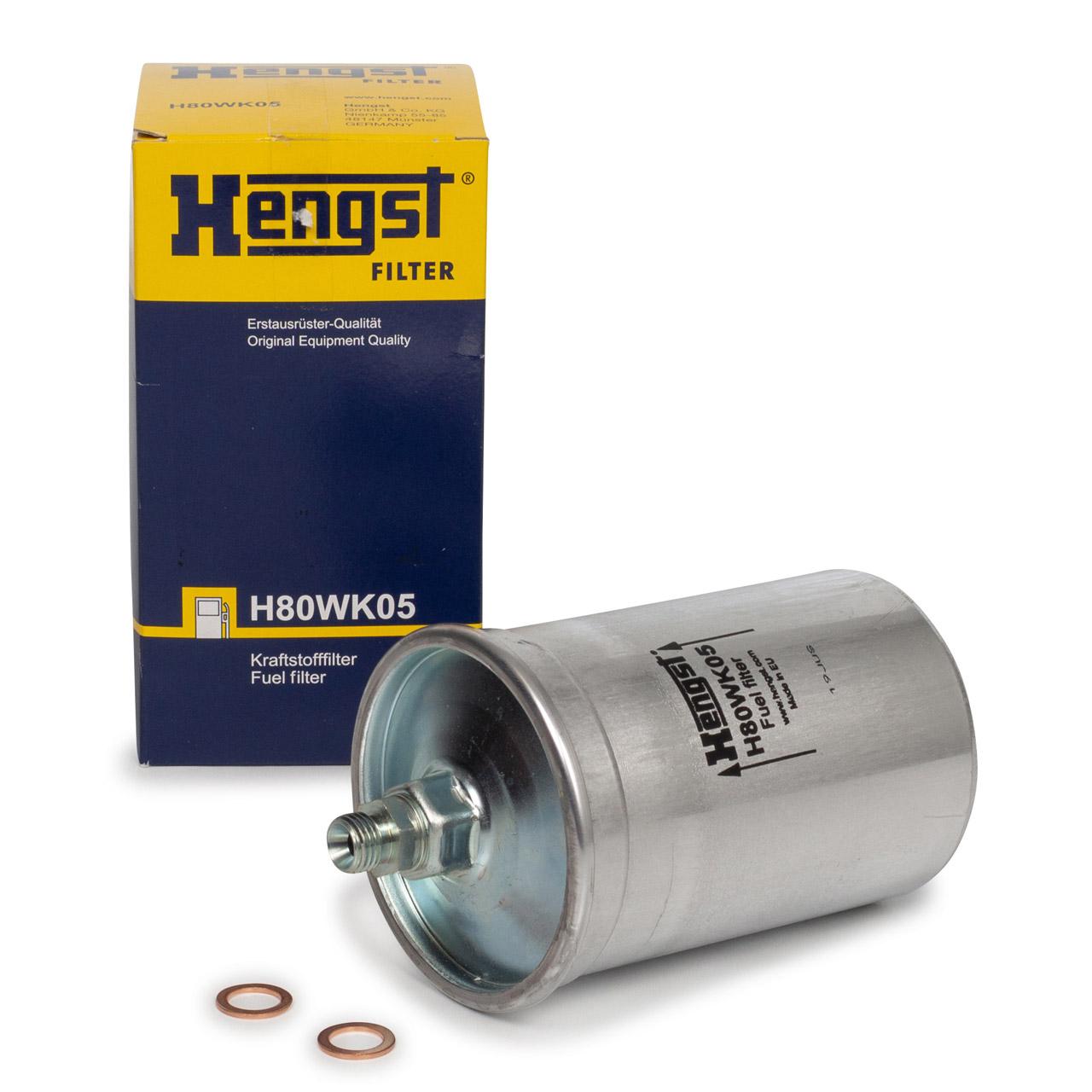 HENGST H80WK05 Kraftstofffilter für MERCEDES W201 W124 W460 W461 W463 R107 R129