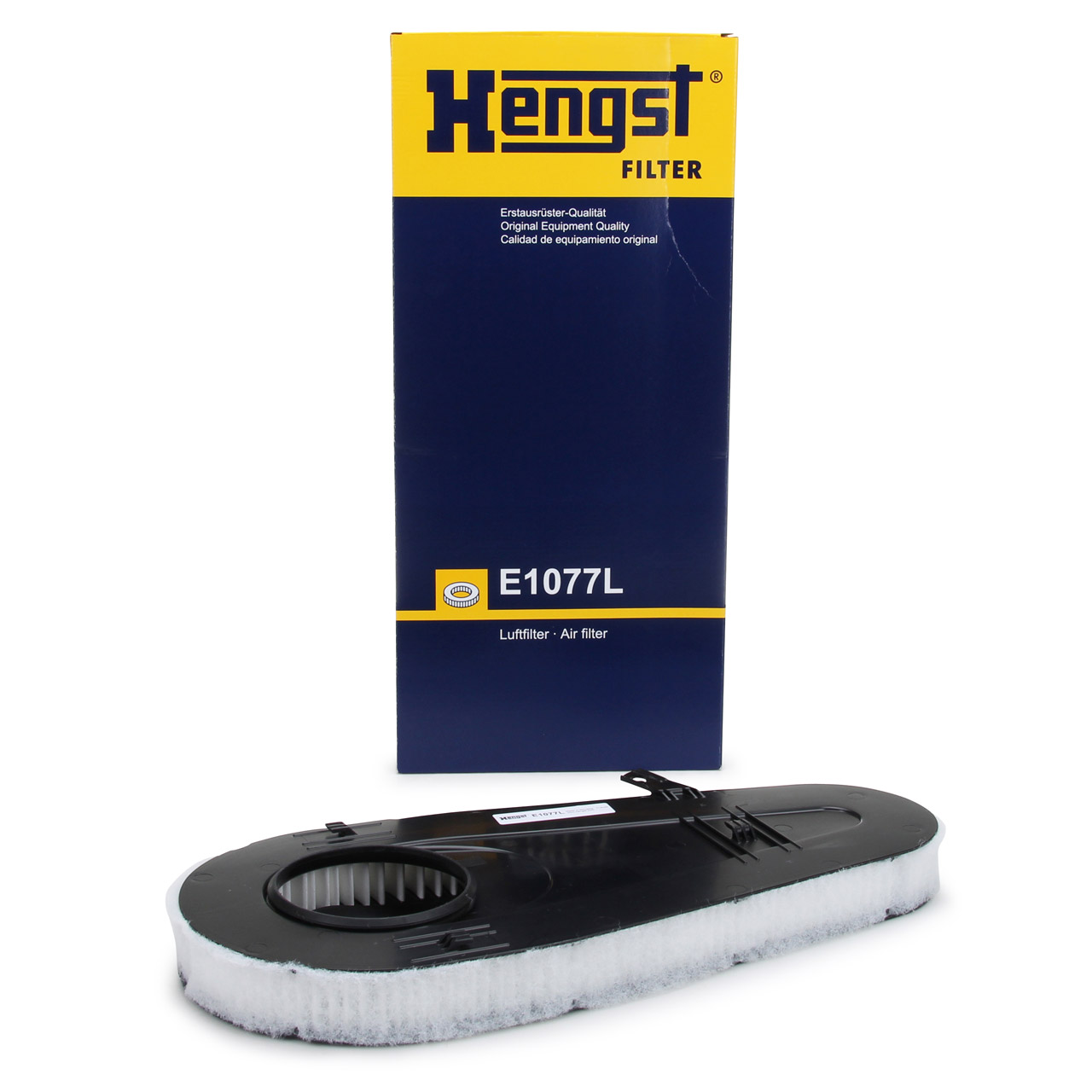 HENGST E1077L Luftfilter für BMW 5er F10 F11 F07 518-535d 7er F01-04 730d 740d