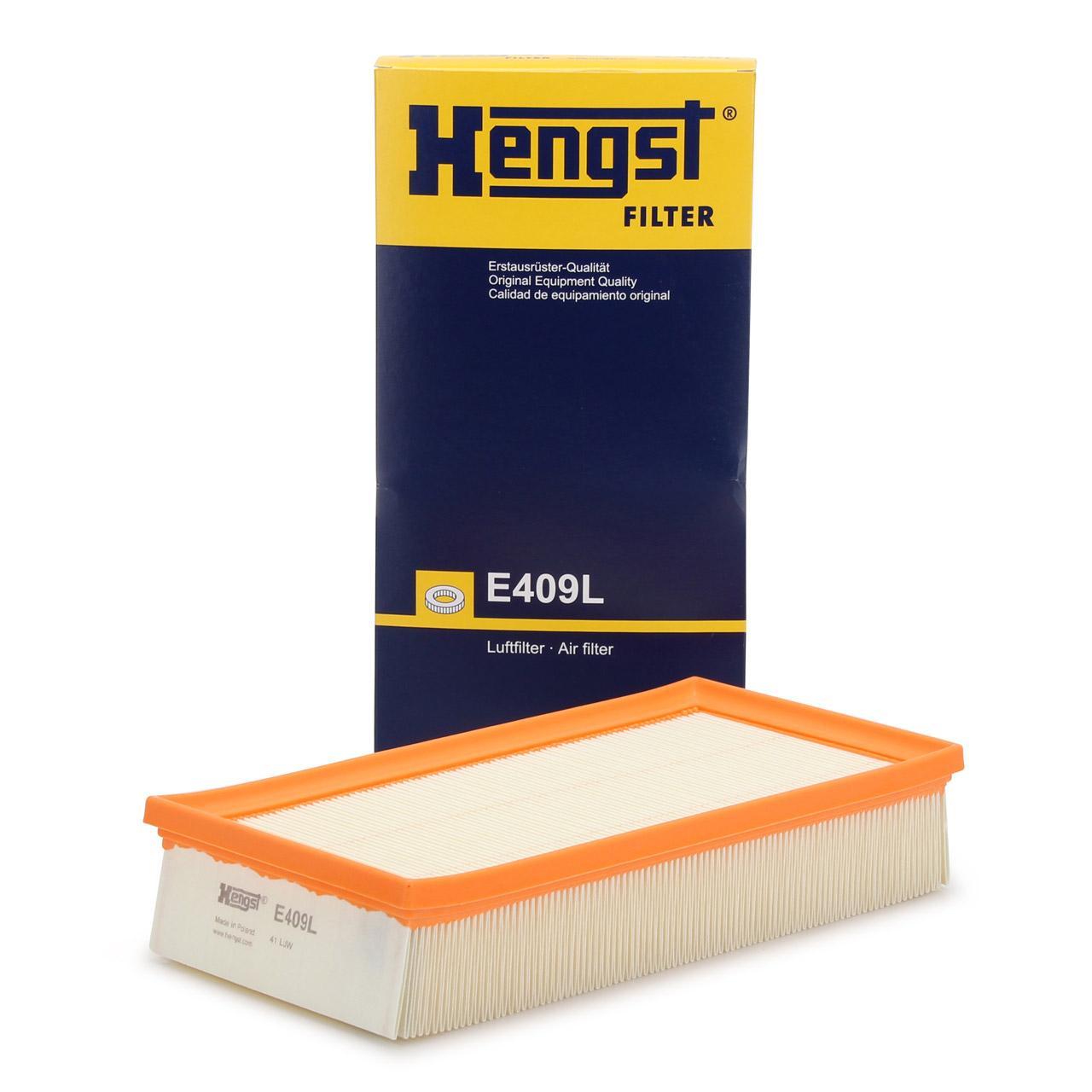 HENGST E409L Luftfilter für BMW 7er E38 750i 326 PS + X5 E53 3.0i 231 PS