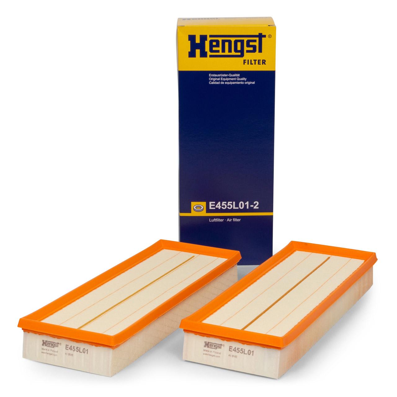 HENGST E455L012 Luftfilter Satz MERCEDES W203 W204 W211 W212 W220 M112 M113 M272