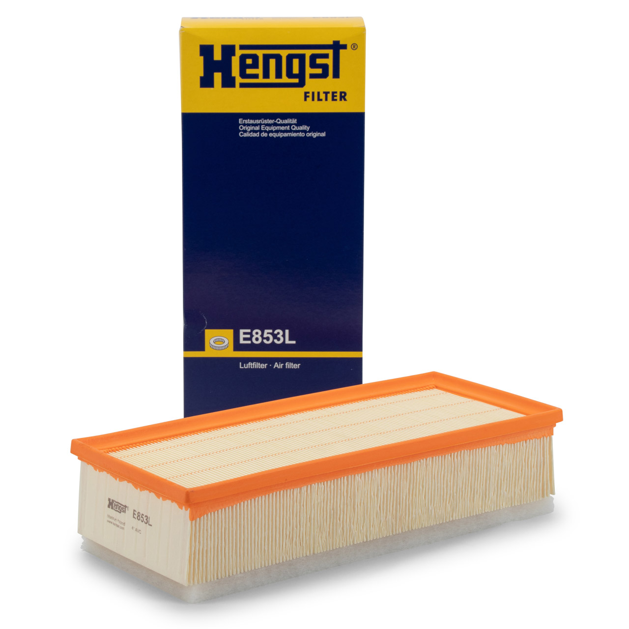 HENGST E853L Luftfilter Motorluft CITROEN C8 Jumpy PEUGEOT 807 Expert 2.0-2.2 HDi