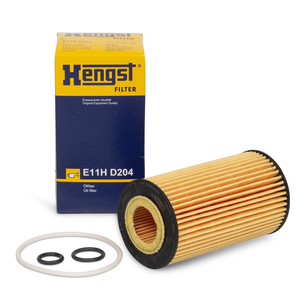 HENGST E11HD204 Ölfilter MERCEDES W176 W246 W204 W205 W212 OM646 OM651 DIESEL