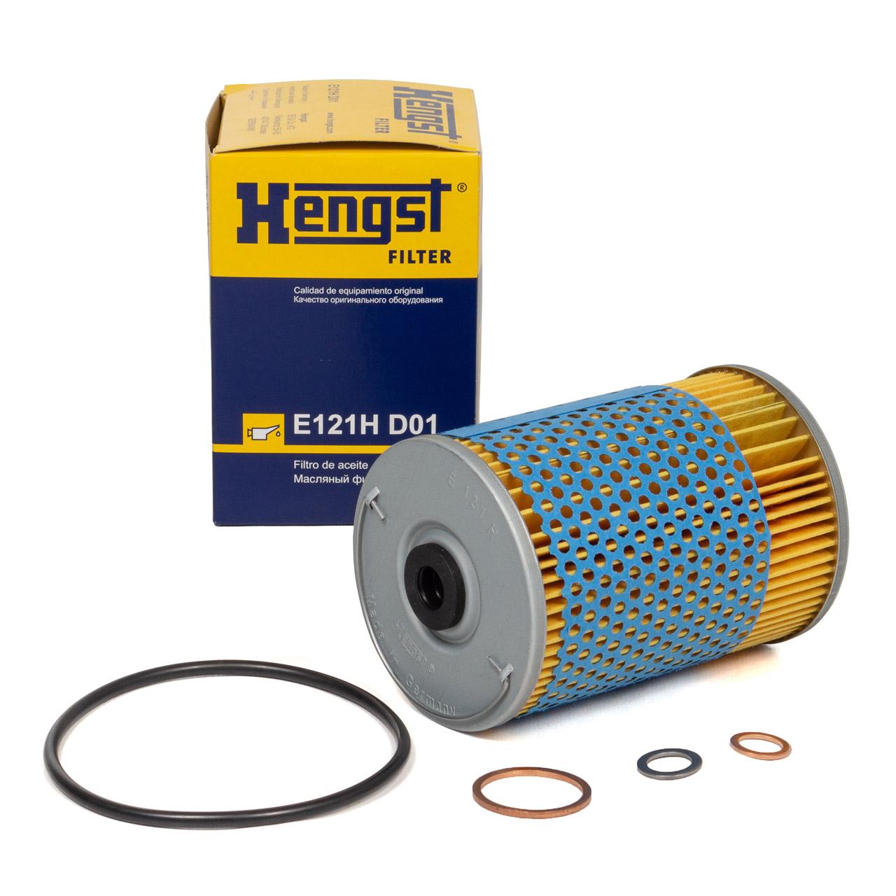 HENGST E121HD01 Ölfilter für MERCEDES /8 W114 W111 W460 W463 W116 W126 W123 uvm.