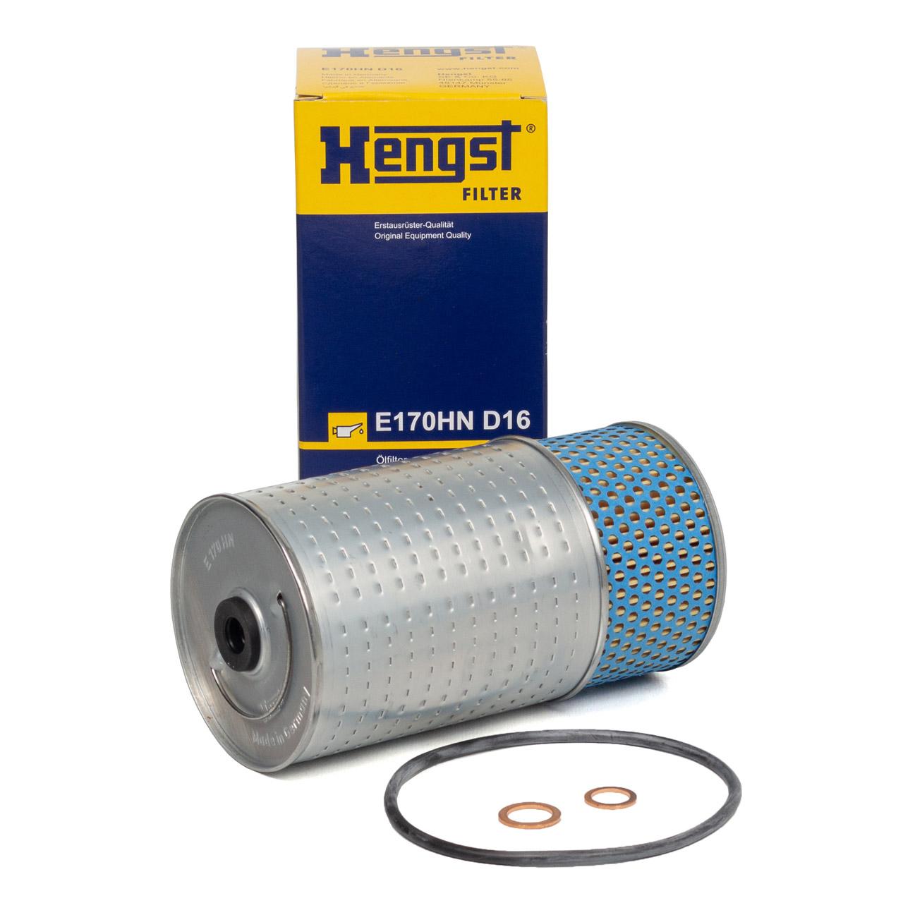 HENGST E170HND16 Ölfilter MERCEDES 190 W201 W202 W124 W460 W461 W463 W140 T1 T2