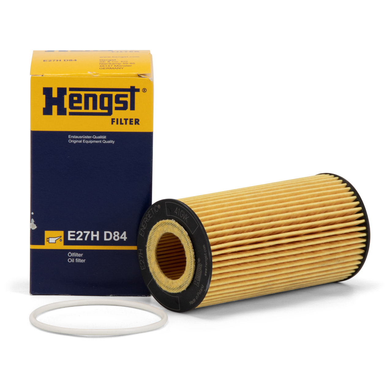HENGST E27HD84 Ölfilter FORD Focus 2 2.5 ST / RS Kuga 1 Mondeo 4 S-Max WA6 2.5