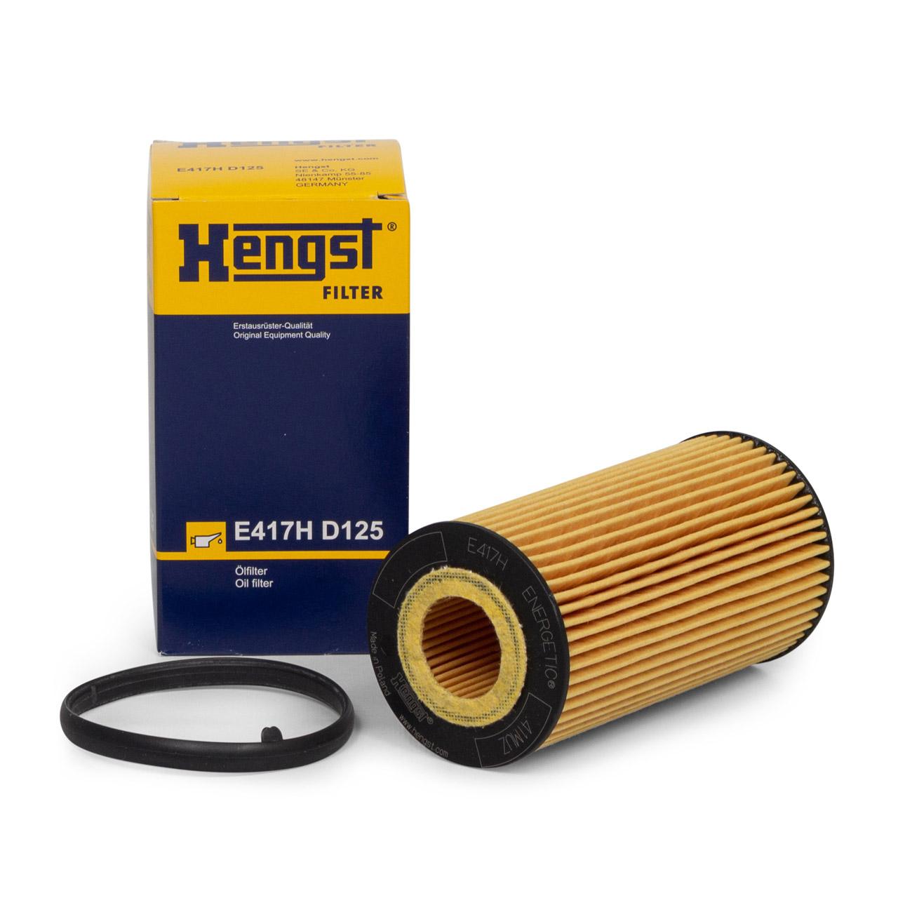 HENGST E417HD125 Ölfilter für VOLVO C30 C70 S40 S60 S80 V40 V50 V60 V70 D3 D4 D5