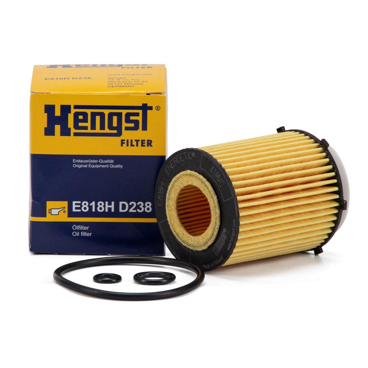 HENGST E818HD238 Ölfilter für INFINITI MERCEDES-BENZ 160-300 M260 N264 M270 M274