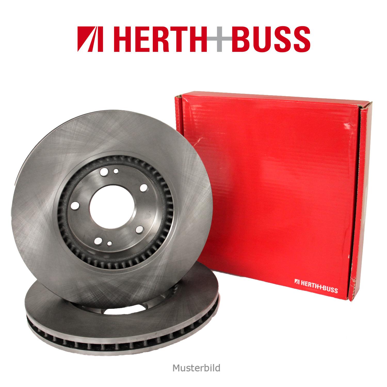 HERTH+BUSS JAKOPARTS Bremsscheiben Satz SUBARU Libero BUS 54 PS vorne