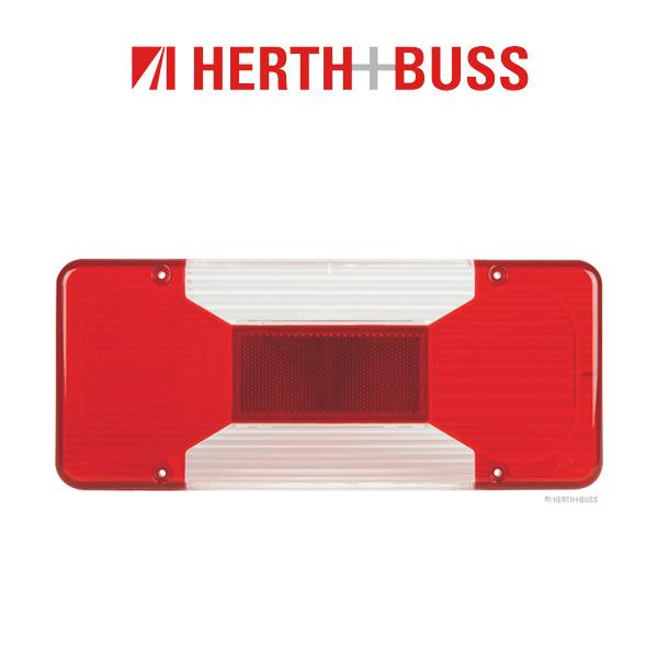 2x HERTH+BUSS ELPARTS Lichtscheibe Heckleuchte IVECO Daily 4 Kipper / Pritsche hinten