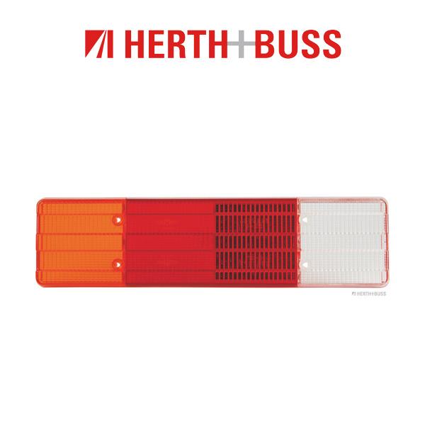 2x HERTH+BUSS ELPARTS Lichtscheibe Heckleuchte MERCEDES VARIO links + rechts 0025440790