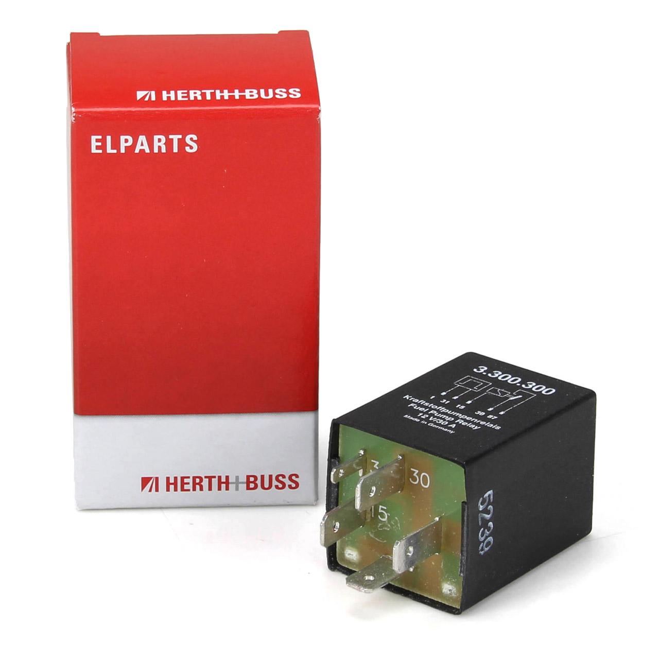 HERTH+BUSS ELPARTS Relais Kraftstoffpumpe für AUDI 100 200 80 COUPE PORSCHE 924