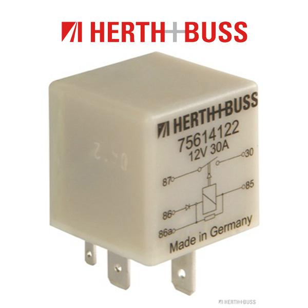 HERTH+BUSS ELPARTS Relais Kraftstoffpumpe für AUDI A4 A6 SEAT VW GOLF 3 PASSAT