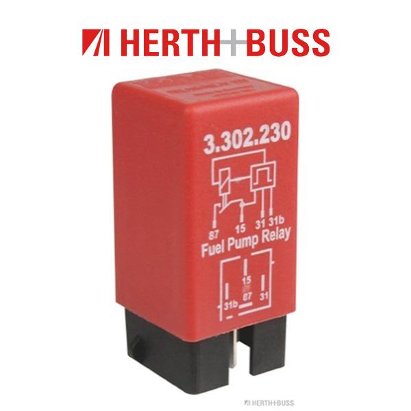 HERTH+BUSS ELPARTS Relais Kraftstoffpumpe für VOLVO 850 (LS LW) C70 I S70 (LS)