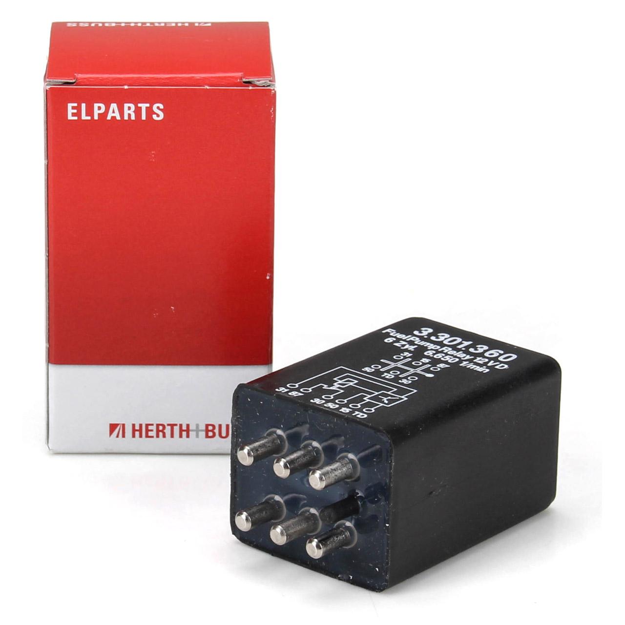 HERTH+BUSS ELPARTS Relais Kraftstoffpumpe für MERCEDES W460 W123 W116 W126 C107