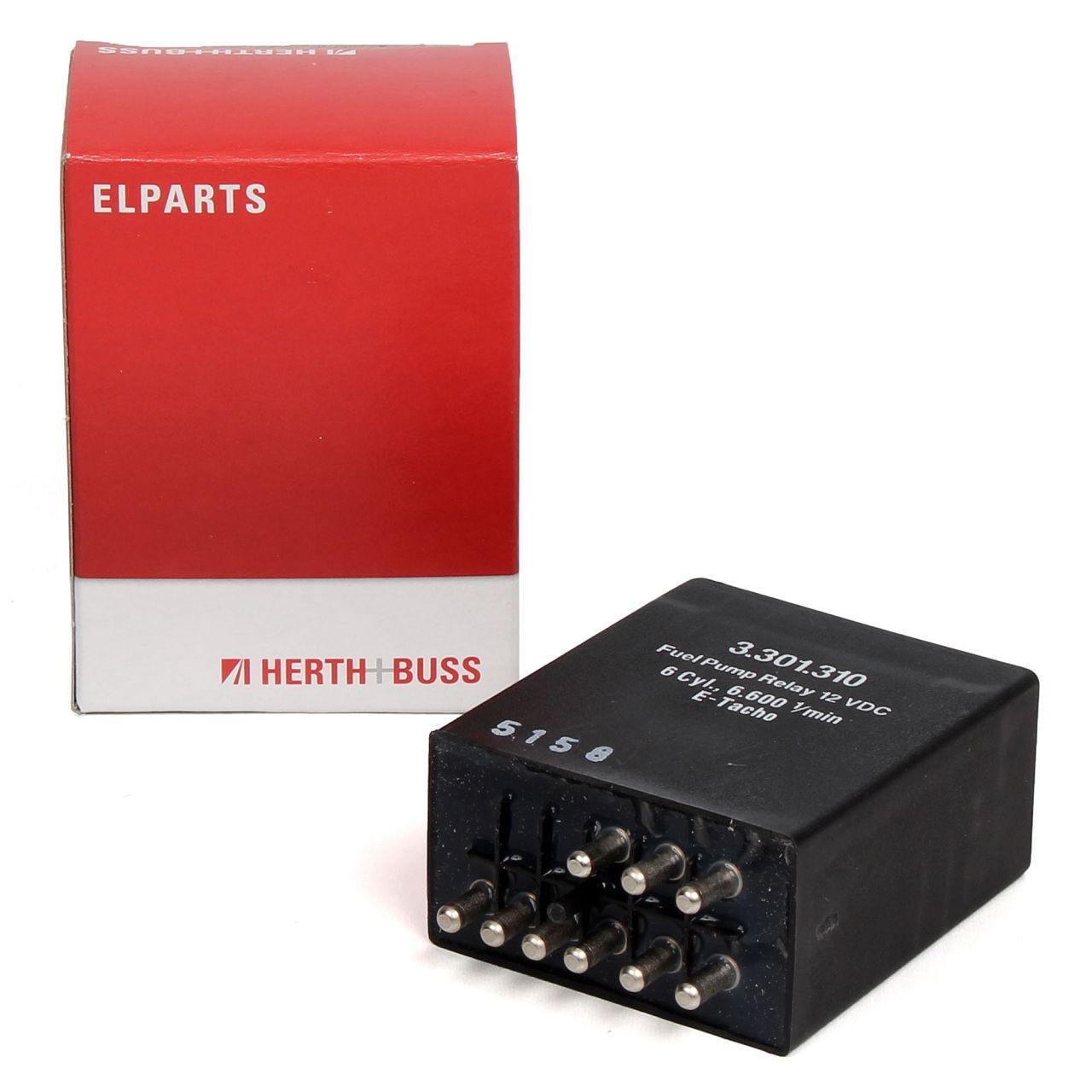 HERTH+BUSS ELPARTS Relais Kraftstoffpumpe für MERCEDES S-KLASSE W126 SL R107 280