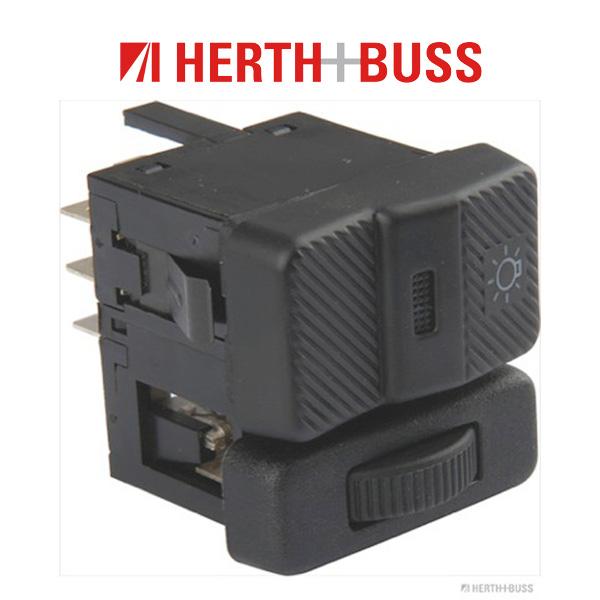 HERTH+BUSS ELPARTS Hauptlichtschalter für VW PASSAT 35i POLO 86c TRANSPORTER T4