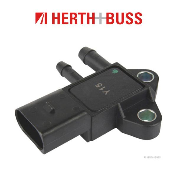 HERTH+BUSS ELPARTS Abgasdrucksensor 70668002 für AUDI A4 A6 A8 Q7 VW PASSAT TOU