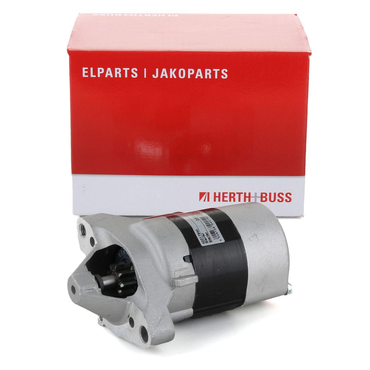 HERTH+BUSS ELPARTS Starter Anlasser 12V 0,7 kW für DACIA SANDERO RENAULT CLIO 1