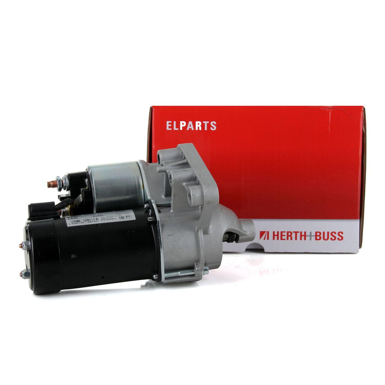 HERTH+BUSS ELPARTS 42455982 Anlasser Starter 12V 1,4kW CITROEN PEUGEOT 1.6HDi