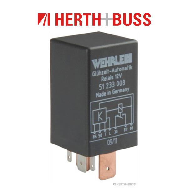 HERTH+BUSS ELPARTS Relais Glühzeit für FORD SCORPIO SIERRA OPEL ASTRA F VECTRA A