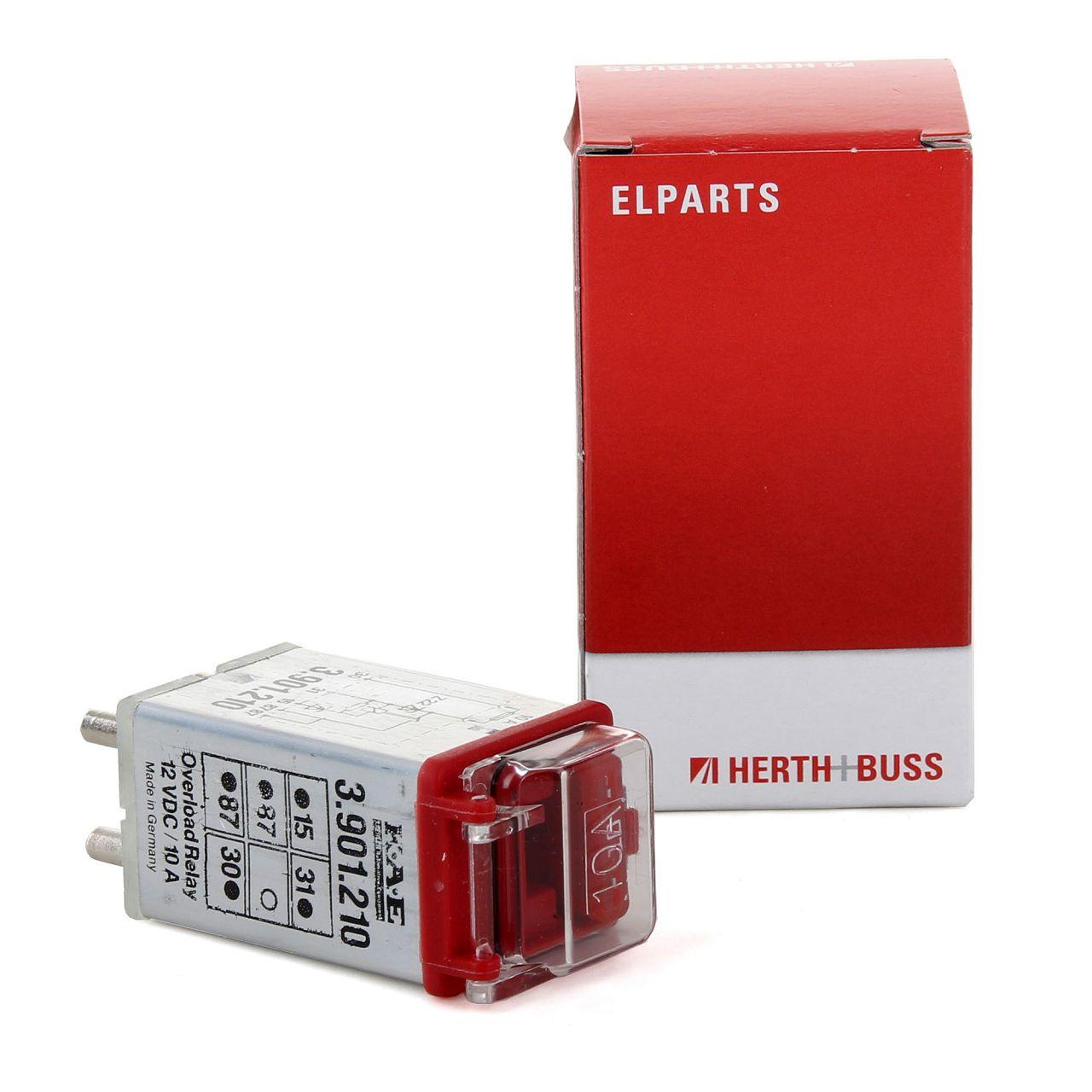 HERTH+BUSS ELPARTS Relais Überspannungsschutz ABS für MERCEDES W201 W460 W126 R