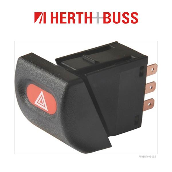 HERTH+BUSS ELPARTS Warnblinkschalter Warnblinker Warnblinklicht für OPEL ASTRA F
