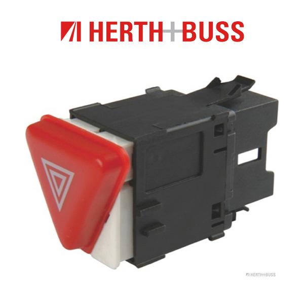 HERTH+BUSS ELPARTS Warnblinkschalter für SKODA FABIA I VW MULTIVAN TRANSPORTER