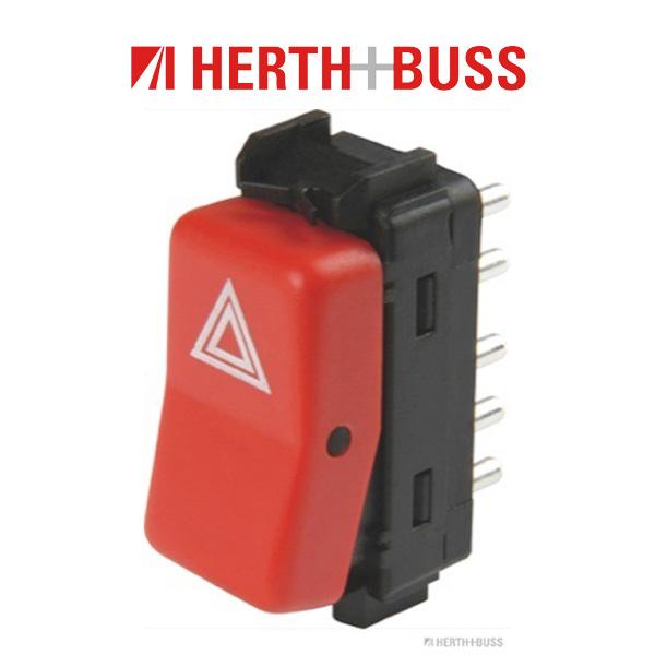 HERTH+BUSS ELPARTS Warnblinkschalter für MERCEDES 190 W201 W202 W124 S124 A124