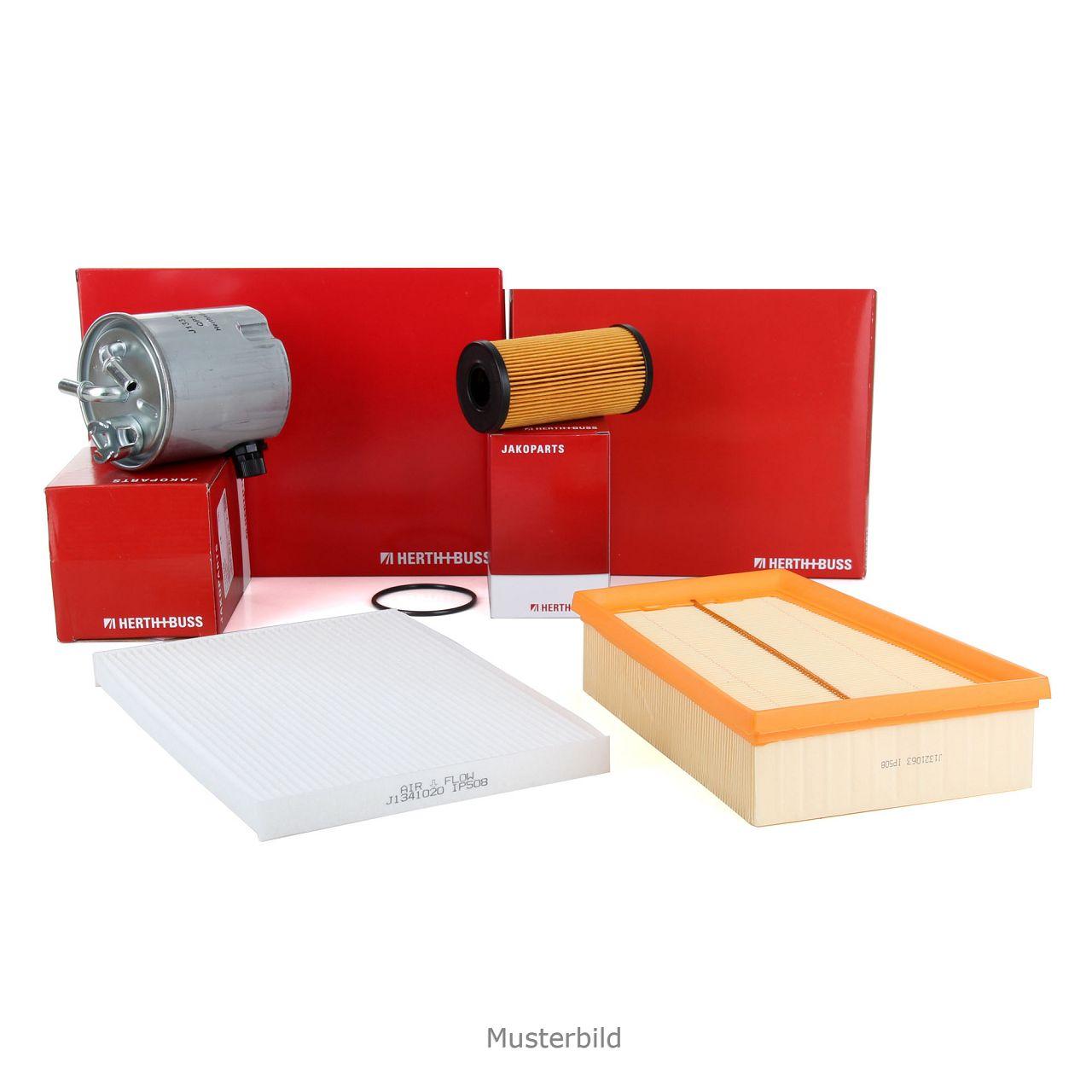HERTH+BUSS JAKOPARTS Filterpaket Filterset für KIA SORENTO I JC 2.5 CRDi 163 PS