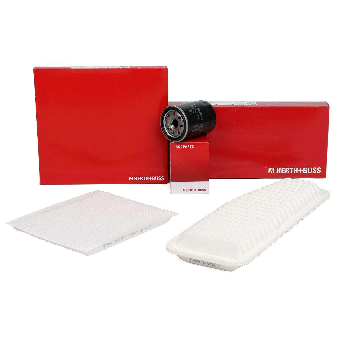 HERTH+BUSS JAKOPARTS Filterpaket Filterset für TOYOTA RAV 4 II 2.0/2.4 VVTi 4WD