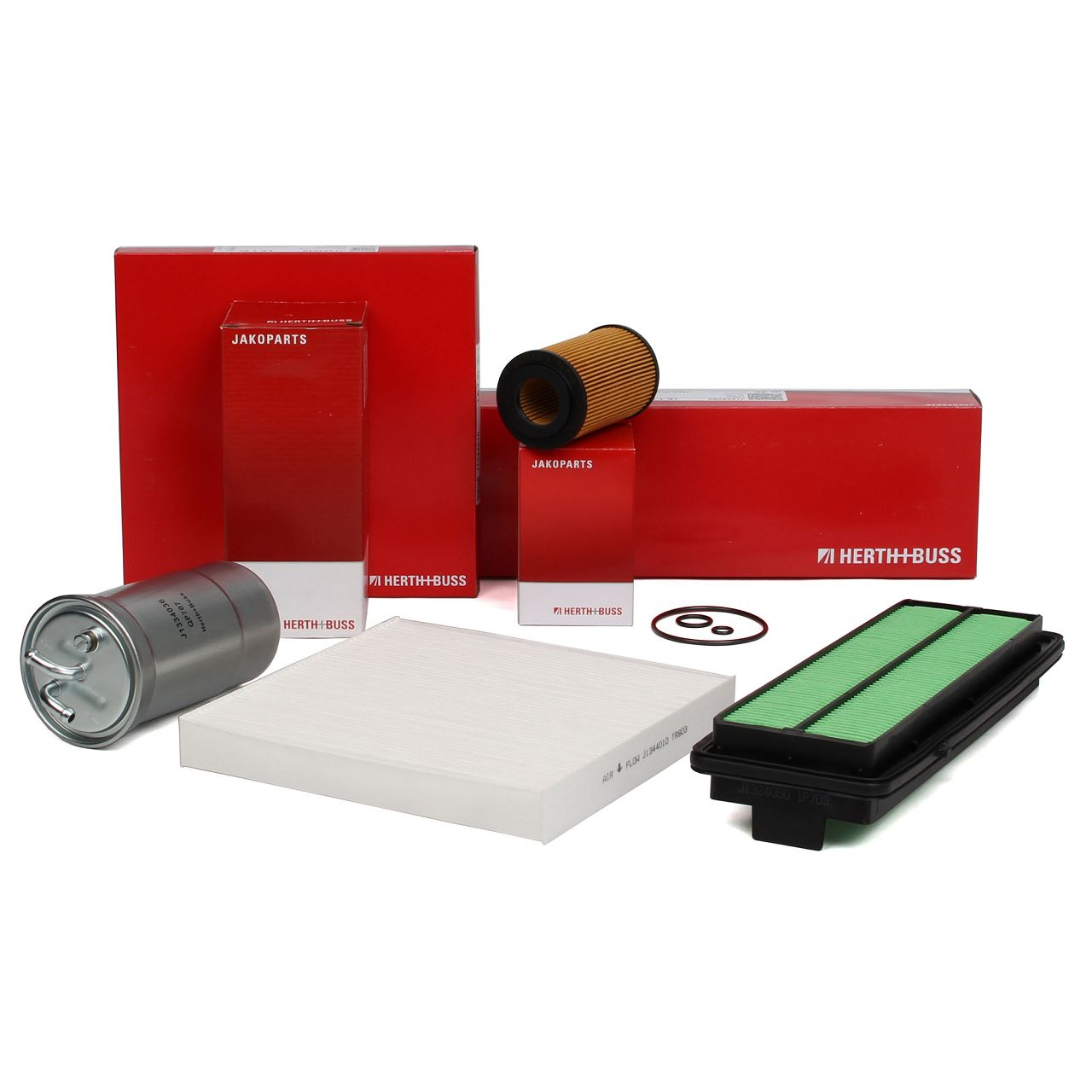HERTH+BUSS JAKOPARTS Filterset für HONDA ACCORD VII (CL CM) 2.2 i-CTDi 140 PS