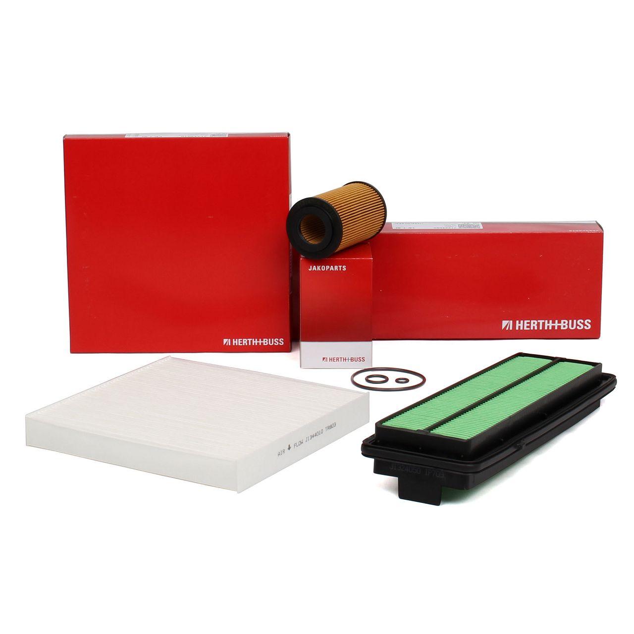 HERTH+BUSS JAKOPARTS Filterpaket Filterset für HONDA ACCORD VII (CL) 2.2 i-CTDi