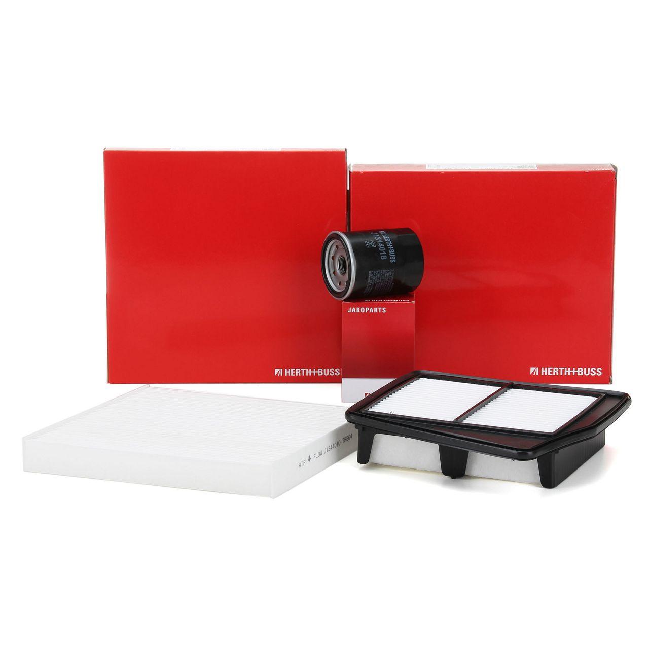 HERTH+BUSS JAKOPARTS Filterpaket Filterset für HONDA ACCORD VIII 2.0i 156 PS