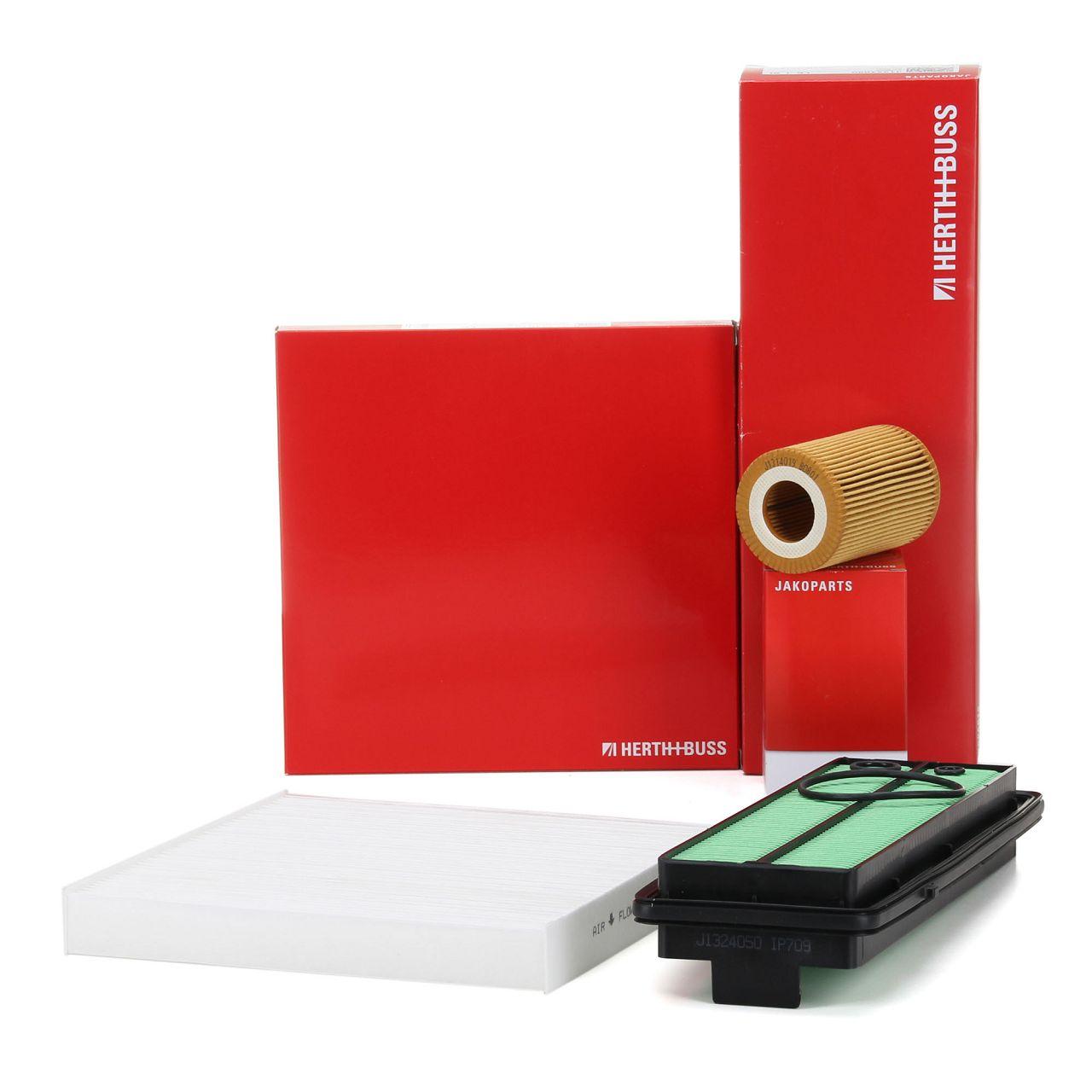 HERTH+BUSS JAKOPARTS Inspektionskit Filterpaket für HONDA ACCORD VIII 2.2 i-DTEC