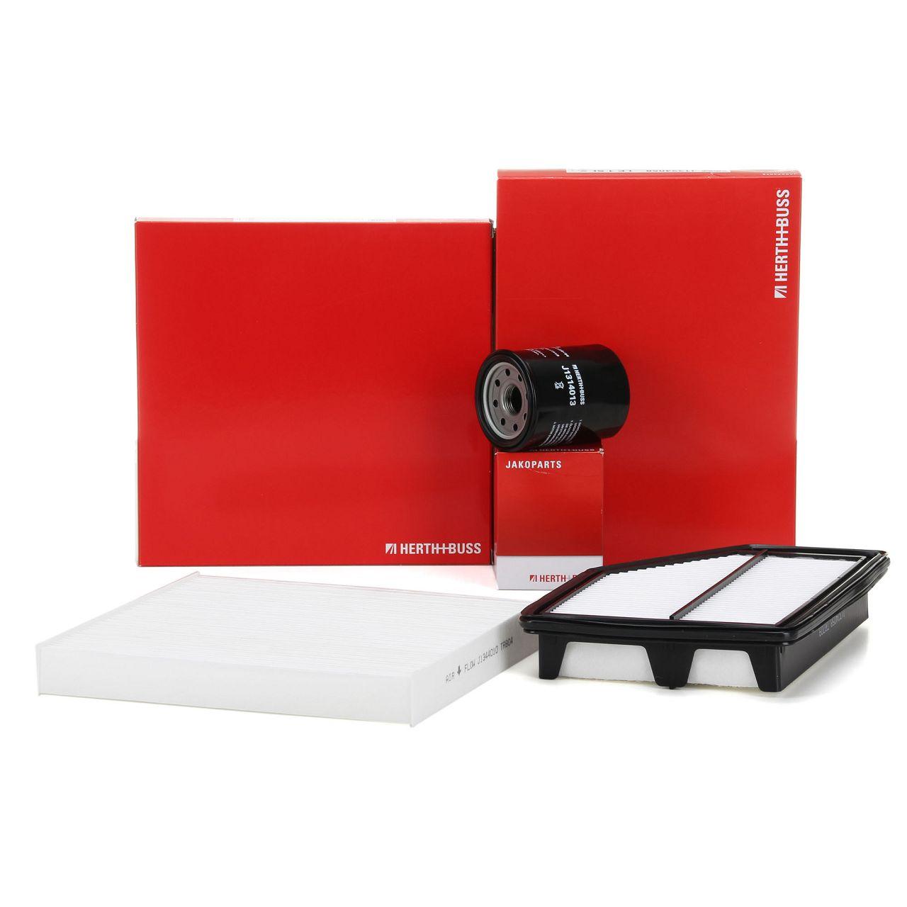 HERTH+BUSS JAKOPARTS Filterpaket Filterset für HONDA CR-V III RE 2.0i 4WD 150PS