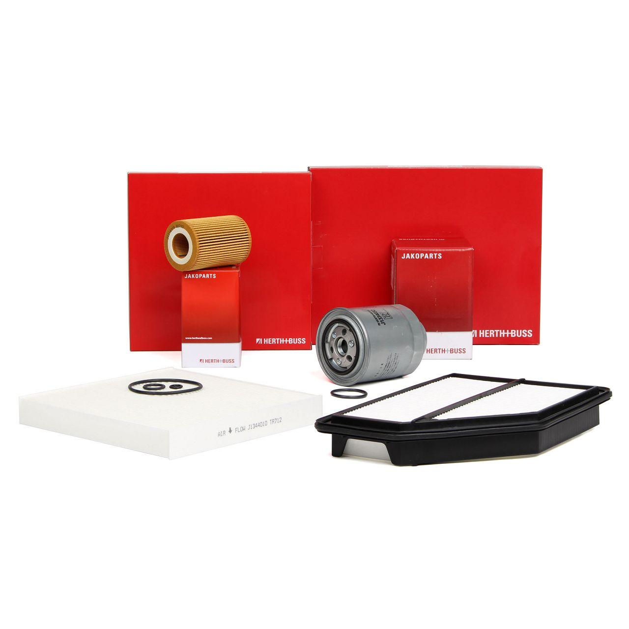HERTH+BUSS JAKOPARTS Filterpaket Filterset für HONDA CR-V III RE 2.2 i-CTDi 4WD