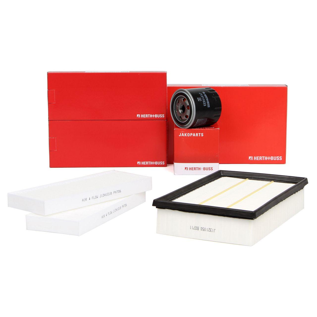 HERTH+BUSS JAKOPARTS Filterset für NISSAN NAVARA D40 PATHFINDER III R51 3.0dCi