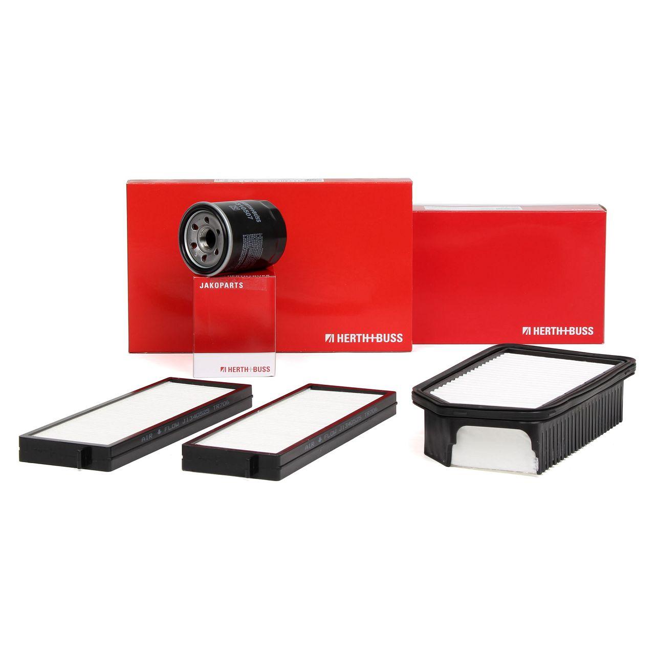 HERTH+BUSS JAKOPARTS Filterpaket Filterset für HYUNDAI i20 (PB PBT) 1.2 78 PS